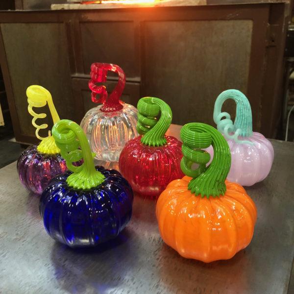 glass pumpkin photo