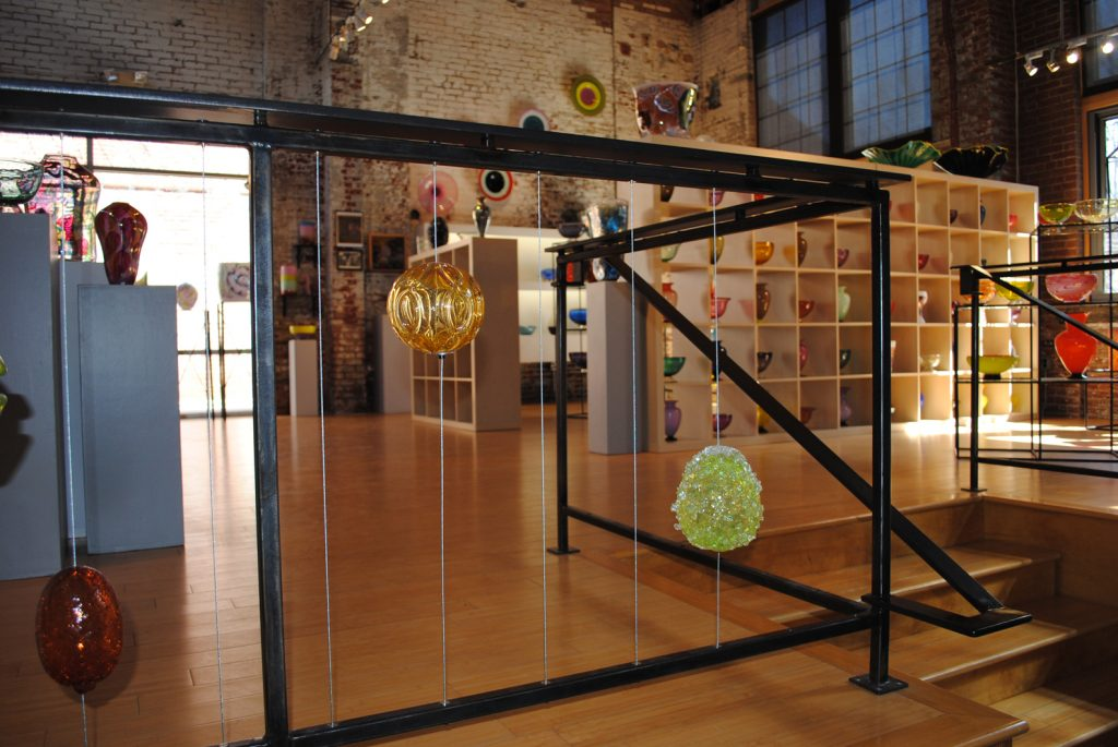 Corradetti Glass Gallery Railings