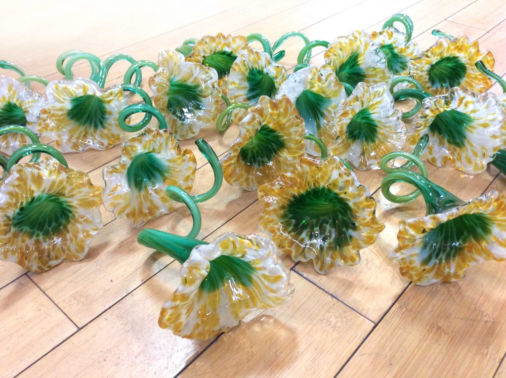 Glass Napkin Rings & Party Favors