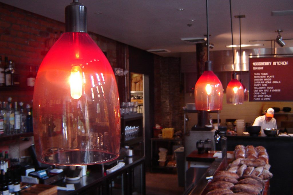 Woodberry Kitchen Bar Lamps